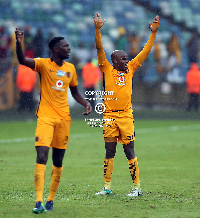 Willard Katsande of Kaizer Chiefs during the Telkom Knockout quarterfinal  match between Kaizer Chiefs and Free State Stars at the Moses Mabhida Stadium , Durban, South Africa.6 November 2016 - (Photo by Steve Haag Kaizer Chiefs)