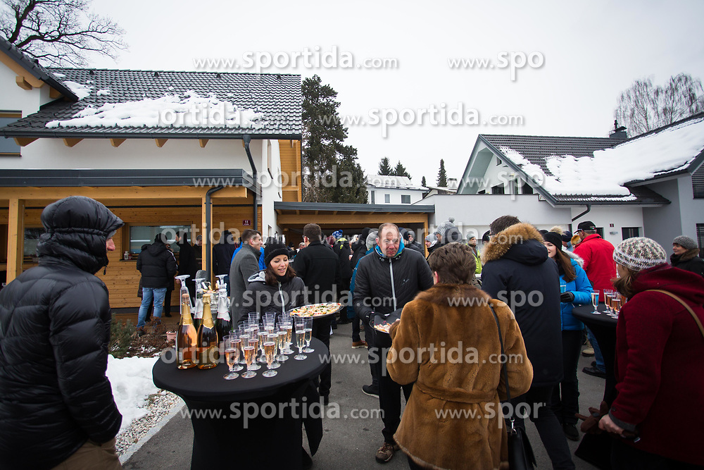 Event during Presentation of new house of Jakov Fak, made by Lumar, on February 26, 2018 in Lesce, Lesce, Slovenia. Photo by Ziga Zupan / Sportida