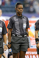 26 October 2014: Fourth Official Maurees Skeete (GUY). The United States Women's National Team played the Costa Rica Women's National Team at PPL Park in Chester, Pennsylvania in the 2014 CONCACAF Women's Championship championship game. By advancing to the final, both teams have qualified for next year's Women's World Cup in Canada. The United States won the game 6-0.