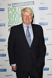 © Licensed to London News Pictures. 28/01/2015, UK. Stanley Johnson, The Paddy Power Political Book Awards, BFI Imax, London UK, 28 January 2015. Photo credit : Richard Goldschmidt/Piqtured/LNP