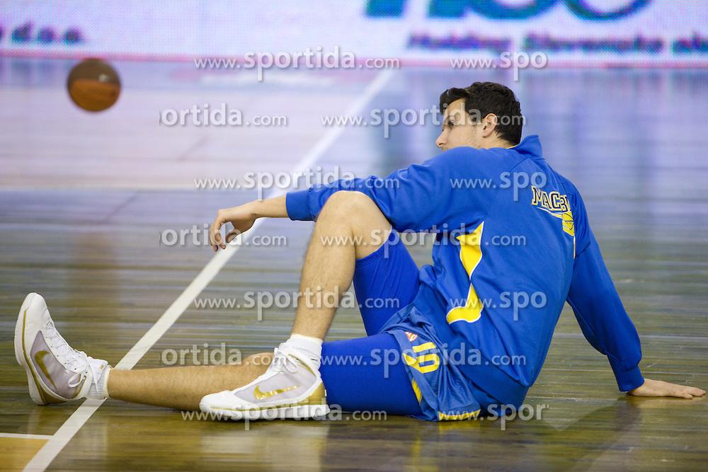 Guy Pnini of Maccabi  at Euroleague basketball match in 6th Round of Group C between KK Union Olimpija and Maccabi Tel Aviv, on December 3, 2009, in Arena Tivoli, Ljubljana, Slovenia. (Photo by Vid Ponikvar / Sportida)