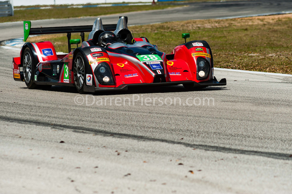 #38 Performance Tech Motorsports ORECA FLM09: James French, Kyle Marcelli, Josh Norman