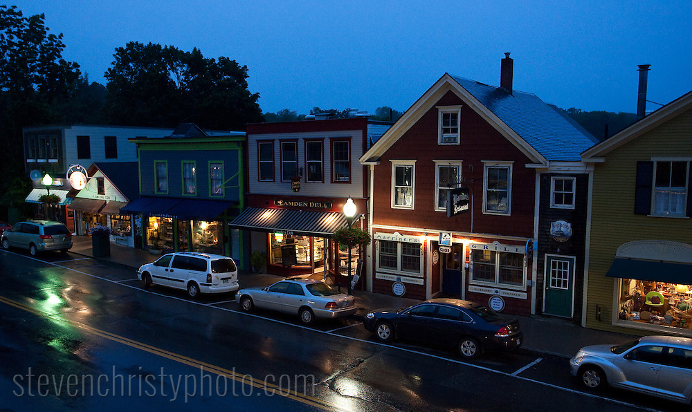 July 24, 2009: Day 8 in Camden, ME.