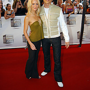 TMF Awards 2005, DJ Tiesto en partner Monique Spronk