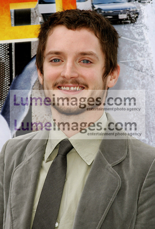 "Elijah Wood at the World Premiere of ""Happy Feet"" held at the Grauman's Chinese Theatre in Hollywood, USA on November 12, 2006."