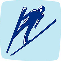 OLYMPIC GAMES VANCOUVER 2010 - VANCOUVER (CAN) - PHOTO : VANOC/COVAN / DPPI<br /> PICTOGRAMS - SKI JUMPING