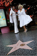 Impersonators on Hollywood Blv.