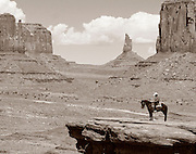 Horse Ryder Monument Valley