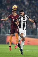 Diego Perotti Roma, Sami Khedira Juventus <br /> Torino 17-12-2016, Juventus Stadium, Football Calcio 2016/2017 Serie A, Juventus - AS Roma, Foto Image Sport/Insidefoto