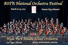 Hyde Park Middle School Orchestra, March 17, 2011