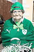 """17/03/12016 """"Mad Oul one"""" at the the St. Patrick's Day Parade in Kinvara Co. Galway. Photo:Andrew Downes, xposure."""