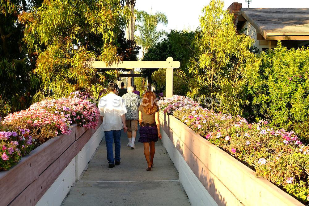 Goldenrod Footbridge In Corona Del Mar Newport Beach California