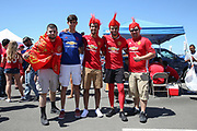 Manchester United fans during the AON Tour 2017 match between Real Madrid and Manchester United at the Levi's Stadium, Santa Clara, USA on 23 July 2017.