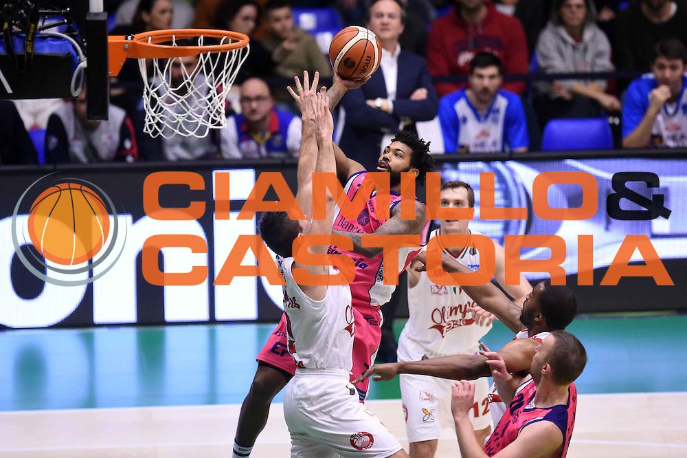 Trevor Lacey<br /> EA7 Emporio Armani Olimpia Milano - Banco di Sardegna Dinamo Sassari <br /> Poste Mobile Final Eight F8 2017 <br /> Lega Basket 2016/2017<br /> Rimini, 19/02/2017<br /> Foto Ciamillo-Castoria