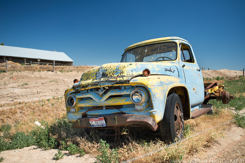 Old Truck on Bill Gates Ranch.