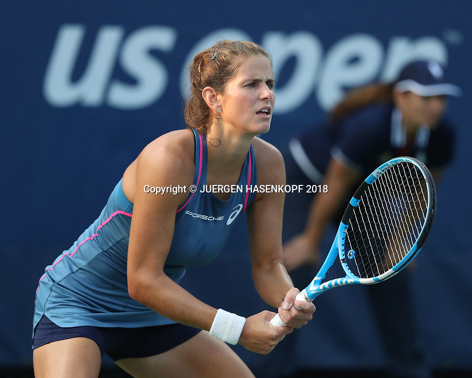 Julia Goerges Tennis Us Open 2018 New York Grand Slam Itf