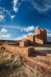 Abó Ruins, Salinas Pueblo Missions National Monument, New Mexico, USA.