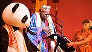 Aladdin <br /> by Joel Horwood, Morgan Lloyd Malcolm &amp; Steve Marmion <br /> at The Lyric Hammersmith, London, Great Britain <br /> <br /> Press photocall<br /> 1st December 2011 <br /> <br /> Hammed Animashaun (as Aladdin)<br /> Simon Kunz (as Abanazer)<br /> Shaun Prendergast (as Widow Twanky)<br /> Steven Webb (as Wishy Washy)<br /> Dominique Moore (as Princess Karen)<br /> Nigel Betts (as Emporer)<br /> Sophia Nomvete (as Ringo)<br /> <br /> <br /> Photograph by Elliott Franks