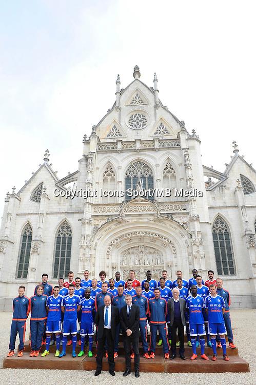 Equipe - 26.09.2015 - Photo officielle Bourg en Bresse Peronnas - Ligue 2<br /> Photo : Jean Paul Thomas / Icon Sport