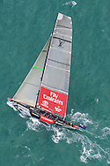 NEW ZEALAND, Auckland,13th February 2009, Louis Vuitton Pacific Series, Final, Emirates Team NZ vs Alinghi, Race 1,