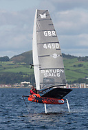 Largs Regatta Festival 2018<br /> <br /> Day 1 -  	MOTH FOILING, 4490, LLSC, Paul Hignett<br /> <br /> Images: Marc Turner