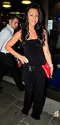 02.JULY.2009 - LONDON<br /> <br /> MICHELLE HEATON LEAVING NOBU RESTAURANT, BERKLEY SQUARE BEFORE HEADING TO THE MAYFAIR HOTEL.<br /> <br /> BYLINE: EDBIMAGEARCHIVE.COM<br /> <br /> *THIS IMAGE IS STRICTLY FOR UK NEWSPAPERS & MAGAZINES ONLY*<br /> *FOR WORLDWIDE SALES & WEB USE PLEASE CONTACT EDBIMAGEARCHIVE - 0208 954 5968*