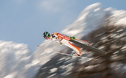 21.03.2015, Planica, Ratece, SLO, FIS Weltcup Ski Sprung, Planica, Finale, Skifliegen, Team, im Bild Anze Semenic (SLO) // during the Ski Flying Team Competition of the FIS Ski jumping Worldcup Cup finals at the Planica in Ratece, Slovenia on 2015/03/21. EXPA Pictures © 2015, PhotoCredit: EXPA/ JFK