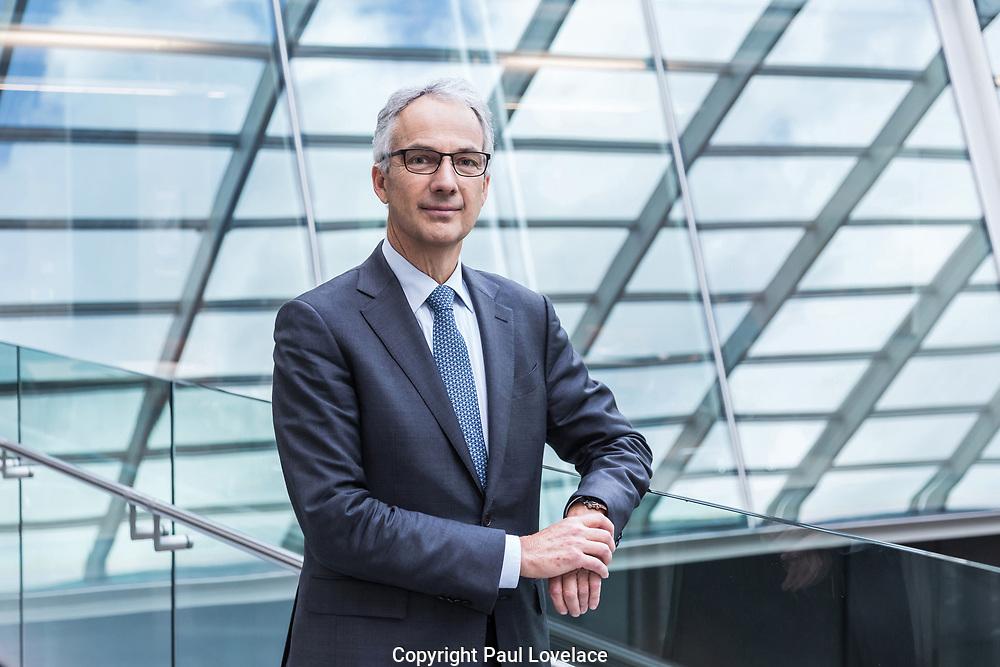 Macquarie Group FY 18 Result Announcement. Photos show Nicholas Moore, CEO Macquarie Group,50 Martin Place, Sydney.