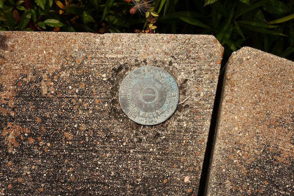 USGS Survey Marker, Pilottown, LA