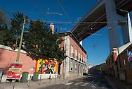Portugal. Lisbon. Belem, mural painting