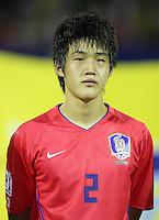 Fussball International U17 WM Korea  Korea - Peru Han Yong Su (KOR)