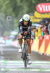 01.07.2017, Duesseldorf, GER, Tour de France, Prolog, im Bild VENTER Jaco (RSA, Team Dimension Data) // Jaco Venter of South Africa during te Prolog of the 2017 Tour de France in Duesseldorf, Germany on 2017/07/01. EXPA Pictures © 2017, PhotoCredit: EXPA/ Martin Huber