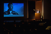 September 1, 2015: Ambassador Mark Brzezinski, Executive Director of the U.S. Government's Arctic Executive Steering Committee, addresses attendees at the Picture of the Arctic event at the Anchorage Museum.