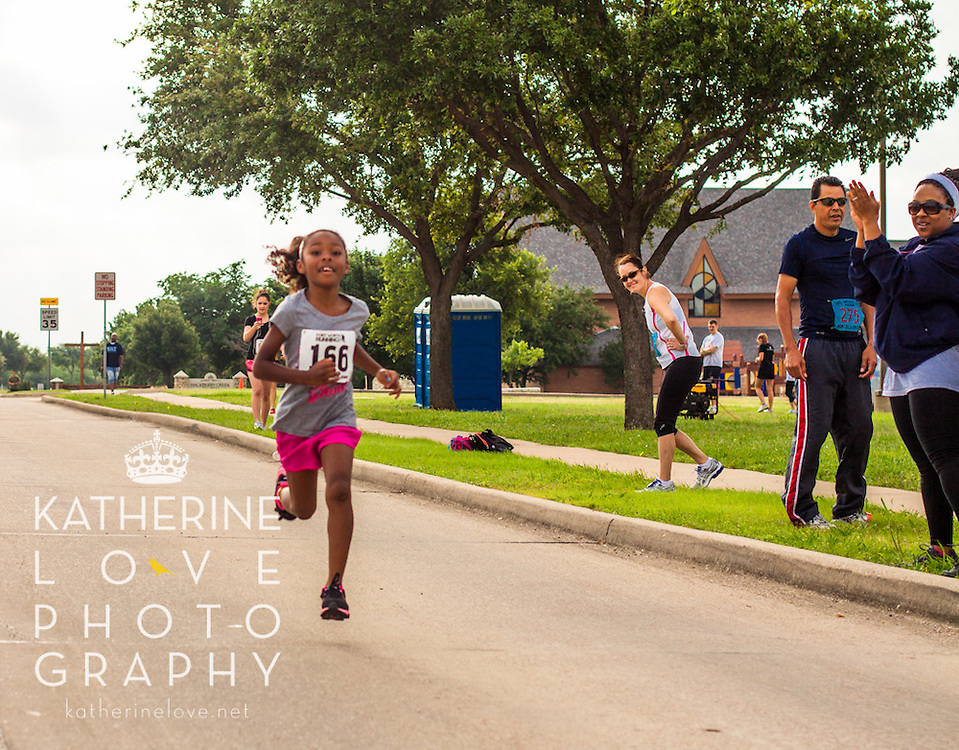 The second annual family fun run benefiting Family Promise of Irving