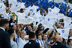 Brighton & Hove Albion fans celebrate 115 years together - Mandatory by-line: Jason Brown/JMP - 12/08/2016 - FOOTBALL - Amex Stadium - Brighton, England - Brighton & Hove Albion v Nottingham Forest - Sky Bet Championship
