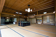 Photo shows   the 2nd floor  of the main building of the Honma Museum of Art in Sakata, Yamagata Prefecture, Japan, on July 06, 2012. Construction of the garden and reception room was started around 200 years ago, but the 2nd floor was added in 1920 in anticipation of visit from the then-emperor. Photographer: Robert Gilhooly