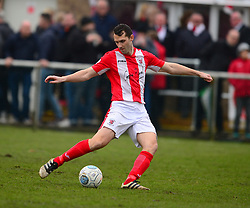 LUKE GRAHAM BRACKLEY TOWN, Brackley Town v Harrogate Town Vanarama National League North, St James Park Good Friday 30th March 2018, Score 0-0.