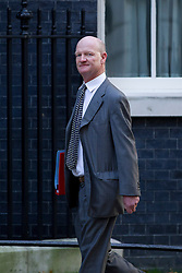 © Licensed to London News Pictures. 16/10/2012. LONDON, UK. David Willetts, the Minister of State for Universities and Science, is seen on Downing Street in London for today's (16/10/2012) meeting of David Cameron's cabinet. Photo credit: Matt Cetti-Roberts/LNP