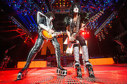 Photos of KISS performing on The Tour at Verizon Wireless Amphitheater in St. Louis on August 27, 2012.