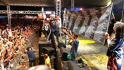 Conecrew Diretoria no palco Pretinho Convida do Planeta Atlântida 2013/RS, que acontece nos dias 15 e 16 de fevereiro na SABA, em Atlântida. FOTO: Marcos Nagelstein/Preview.com