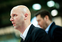 Andrej Zakelj, assistant coach of Sixt Primorska during basketball match between KK Sixt Primorska and KK Petrol Olimpija in semifinal of Spar Cup 2018/19, on February 16, 2019 in Arena Bonifika, Koper / Capodistria, Slovenia. Photo by Vid Ponikvar / Sportida