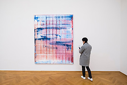 Painting by Gerhard Richter, March, at Albertinum art museum in Dresden, Germany.