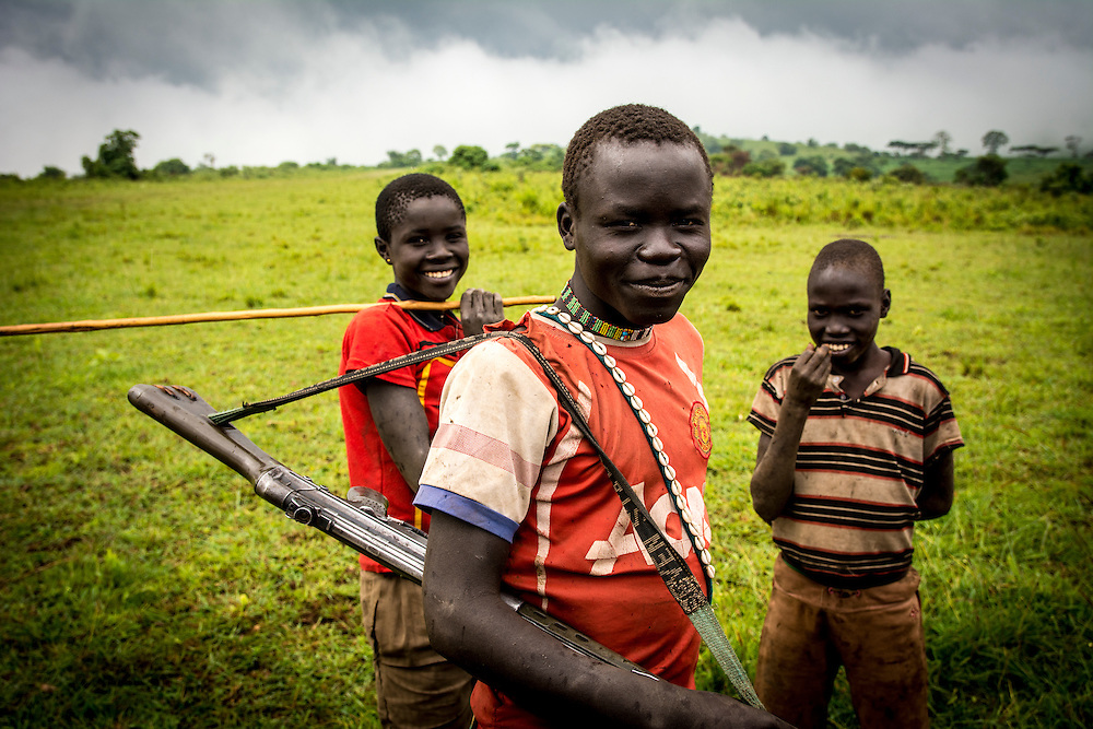 The hills of Southern Sudan are a lush respite from the parched plains below. The village of Nagishot is high in the Didinga mountains and is home to cattle herders and maize growers, and is virtually untouched by the strife of political unrest and war.
