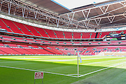 Wembley Stadium during the Vanarama Conference Final between Bristol Rovers FC and Grimsby Town FC at Wembley Stadium, London, England on 17 May 2015. Photo by Shane Healey.