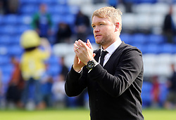 Peterborough United Manager Grant McCann acknowledges the supporters at full-time - Mandatory by-line: Joe Dent/JMP - 05/08/2017 - FOOTBALL - ABAX Stadium - Peterborough, England - Peterborough United v Plymouth Argyle - Sky Bet League One