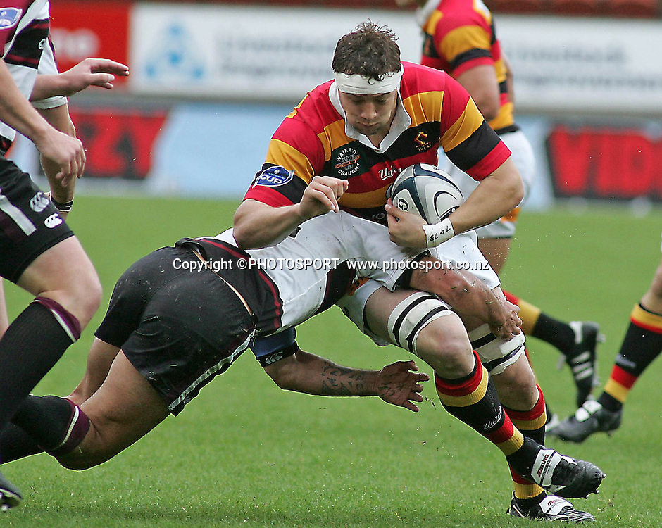 Waikato's Jono Gibbs during the Air NZ Cup rugby match between Waikato and North Harbour played at Waikato Stadium, Hamilton, New Zealand on Sunday 1 October  2006.      Photo: Brett O'Callaghan/PHOTOSPORT