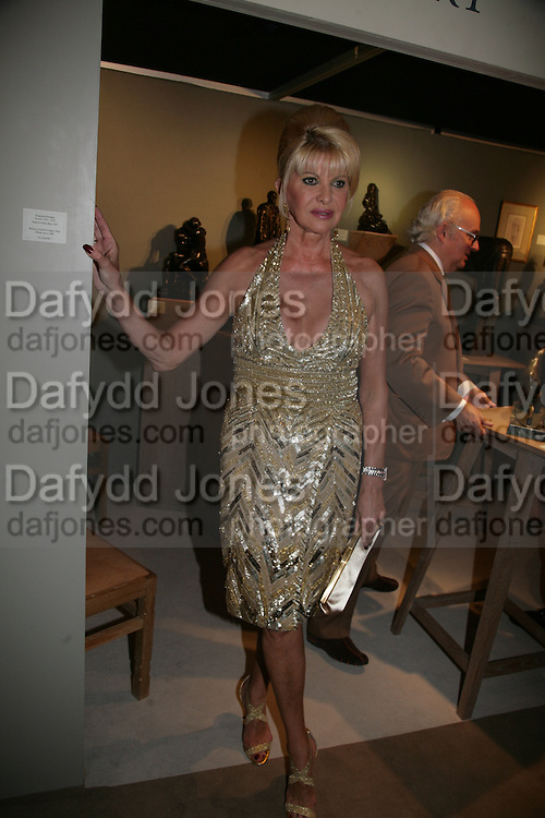 IVANA TRUMP,  Grosvenor House Art & Antiques Fair charity gala evening in aid of Coram Foundation. Grosvenor House. Park Lane. London. 14 June 2007.  -DO NOT ARCHIVE-© Copyright Photograph by Dafydd Jones. 248 Clapham Rd. London SW9 0PZ. Tel 0207 820 0771. www.dafjones.com.