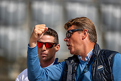 DUBBELDAM Jeroen (NED)<br /> Rotterdam - Europameisterschaft Dressur, Springen und Para-Dressur 2019<br /> Parcoursbesichtigung<br /> Longines FEI Jumping European Championship - 1st part - speed competition against the clock<br /> 1. Runde Zeitspringen<br /> 21. August 2019<br /> © www.sportfotos-lafrentz.de/Stefan Lafrentz