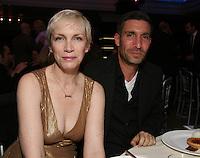 Annie Lennox and David Joseph (chairman/CEO of Universal Music U.K.)