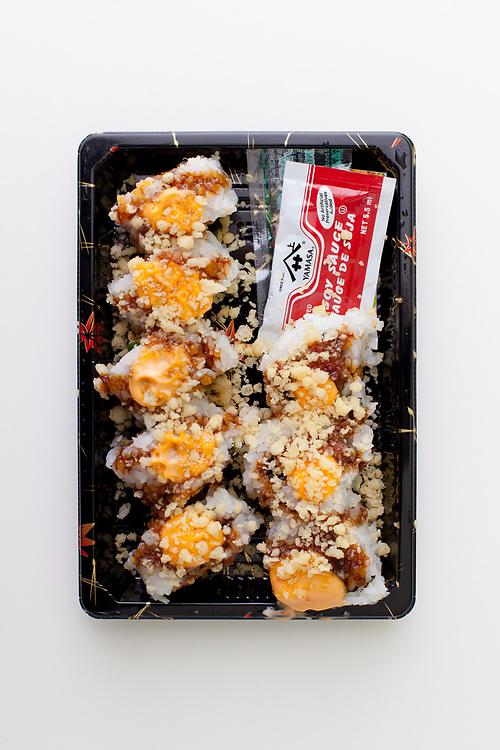 Crunchy Spicy Tuna Roll from Dainobu ($8.15)